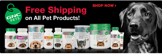GNC Pets - Free shipping on all pet products!
