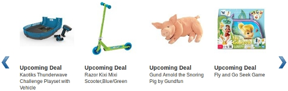 Amazon Holiday Toys