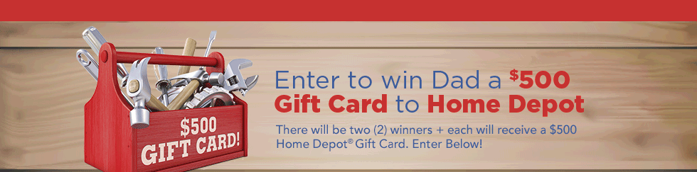 The Home Depot Contest